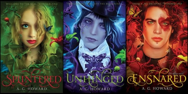 Splintered Series Final covers